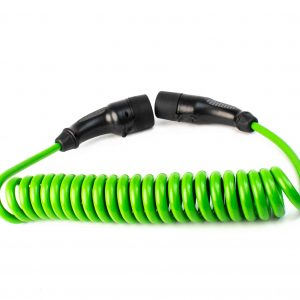 Curly EV Cable