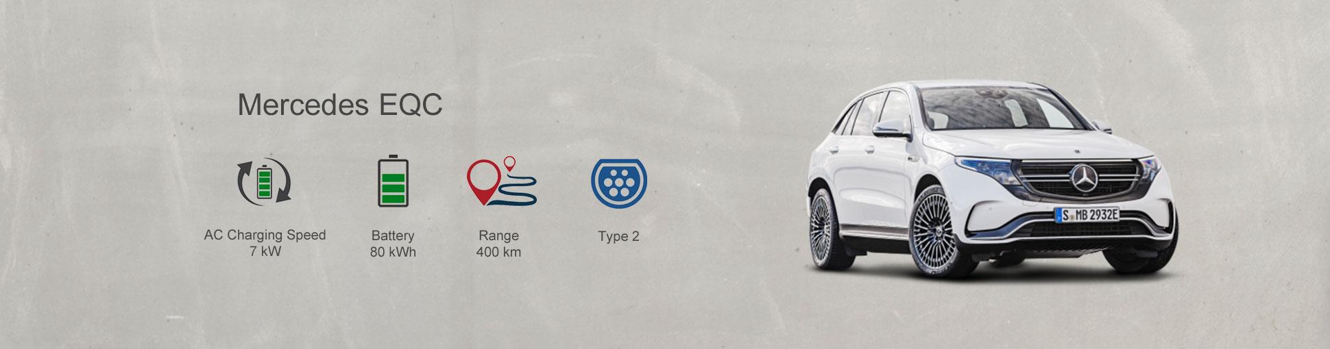 Mercedes EV Charging Station charger