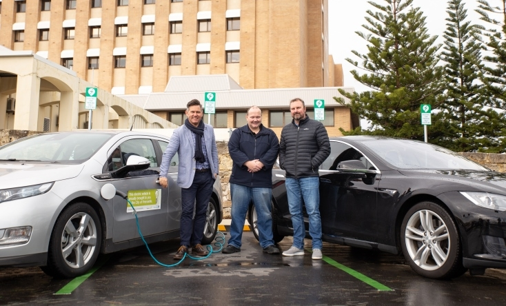 Fremantle Residents can now charge up their Electric Cars thanks to Fremantle City Council's investment in EV Charging stations