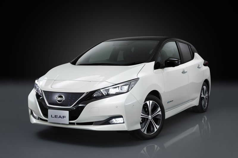 First Look – Nissan Shows off the next generation Nissan Leaf All Electric Vehicle
