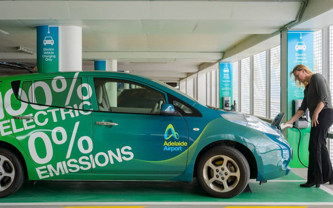 Adelaide Airport Public Terminal Car Park becomes first Airport in Australia to provide Electric Vehicle Charging Stations