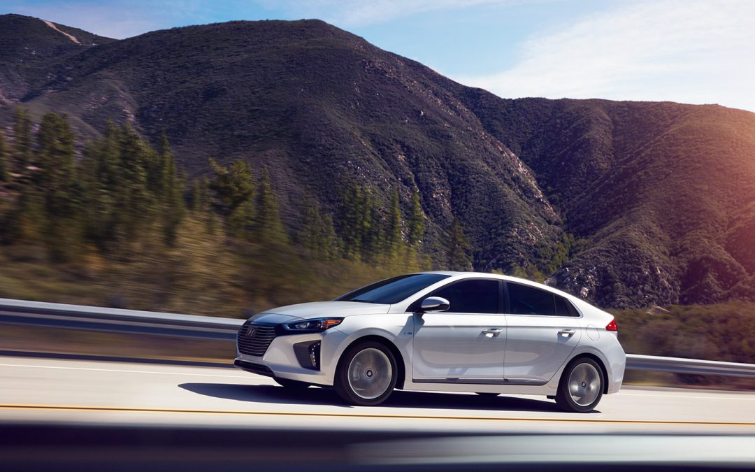 The much anticipated Hyundai Ioniq range headed down under
