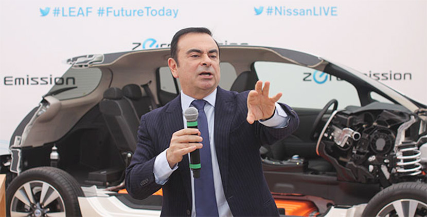 Carlos Ghosn: Nissan will concentrate on mass market EVs
