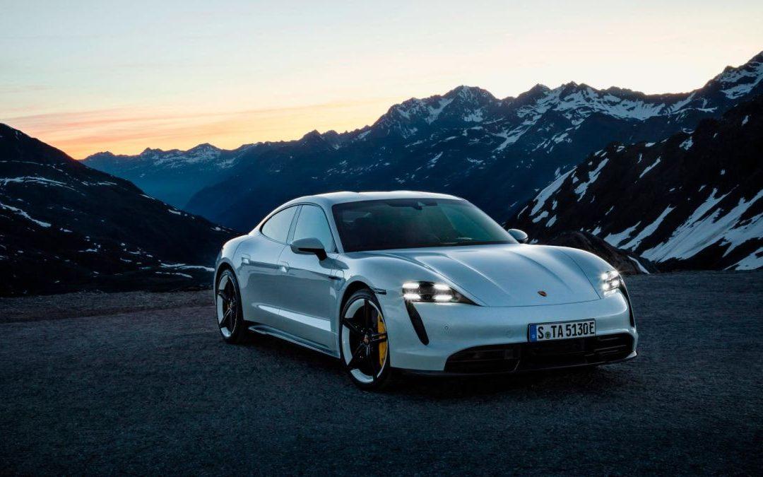 Porsche's answer to Tesla Model S Performance