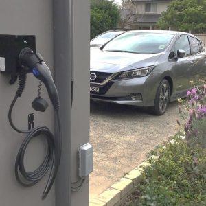 solar car charging station
