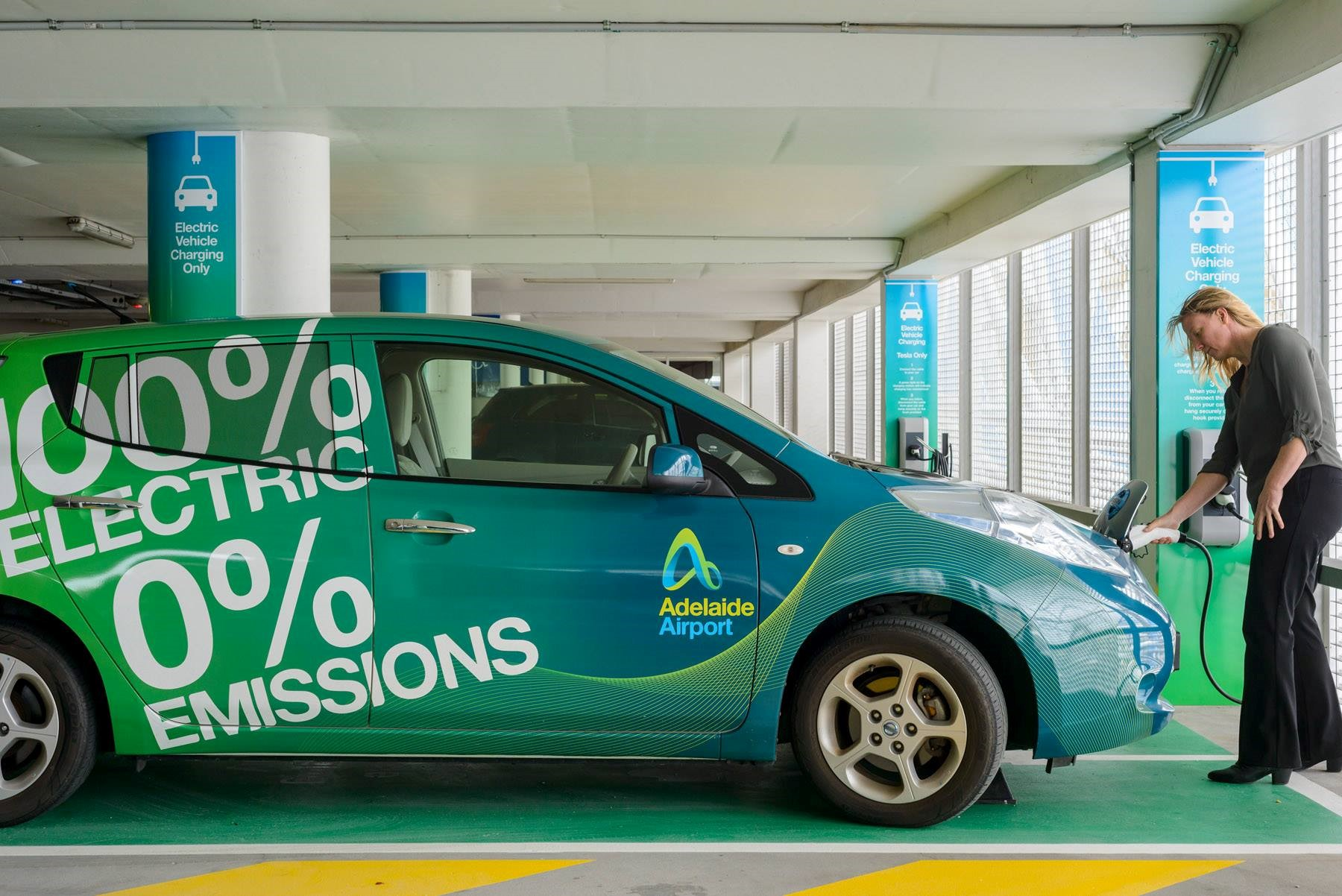 Electric car in Adelaide
