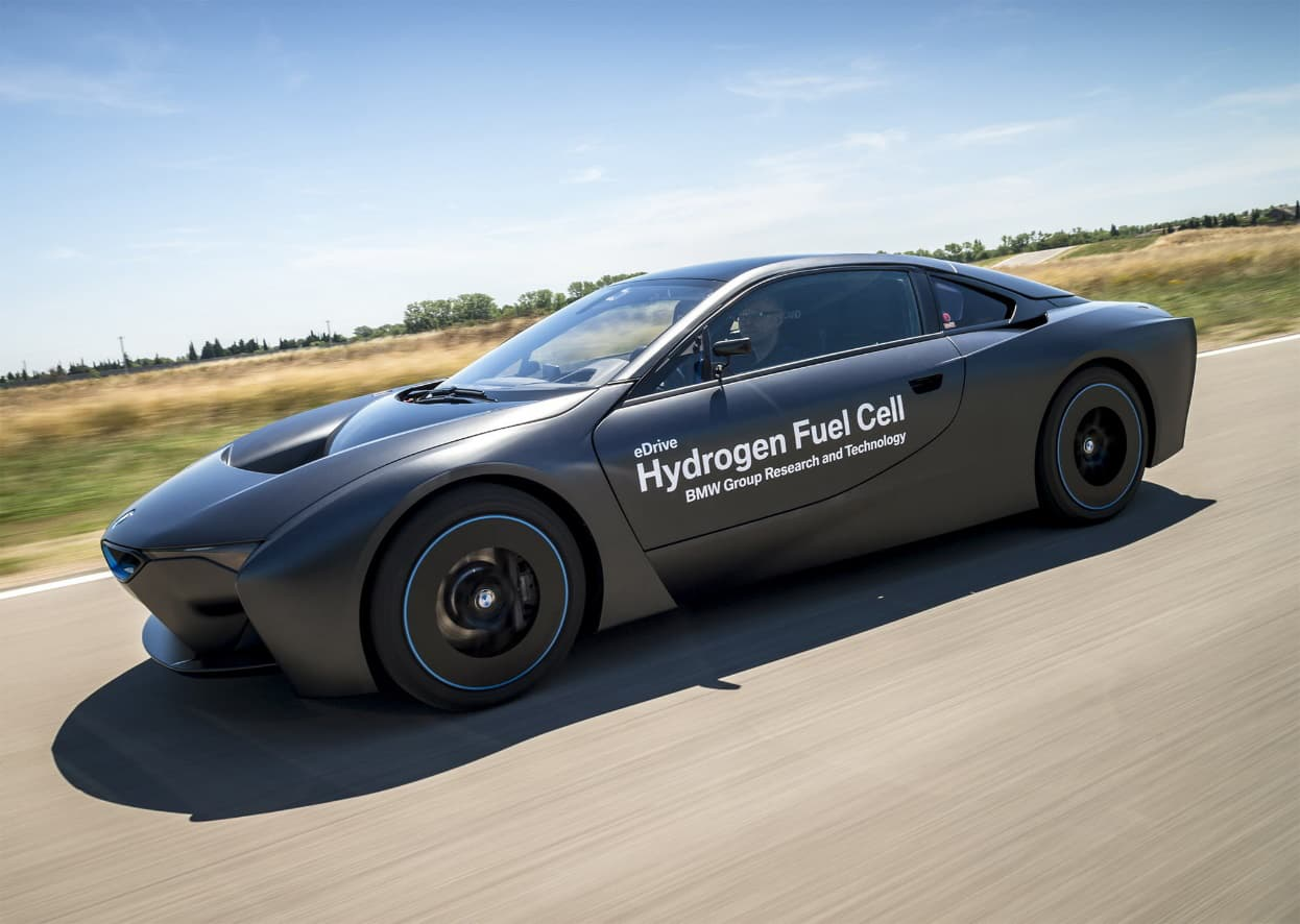 hydrogen powered car
