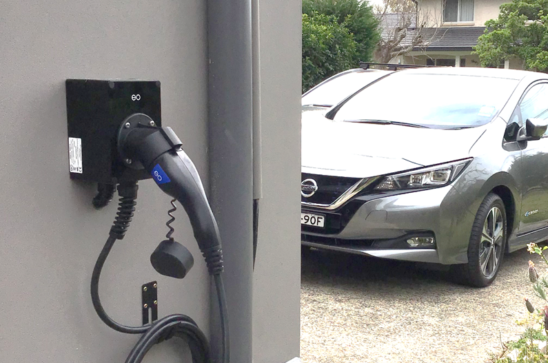 Nissan Home Charger Installation - EVSE Australia