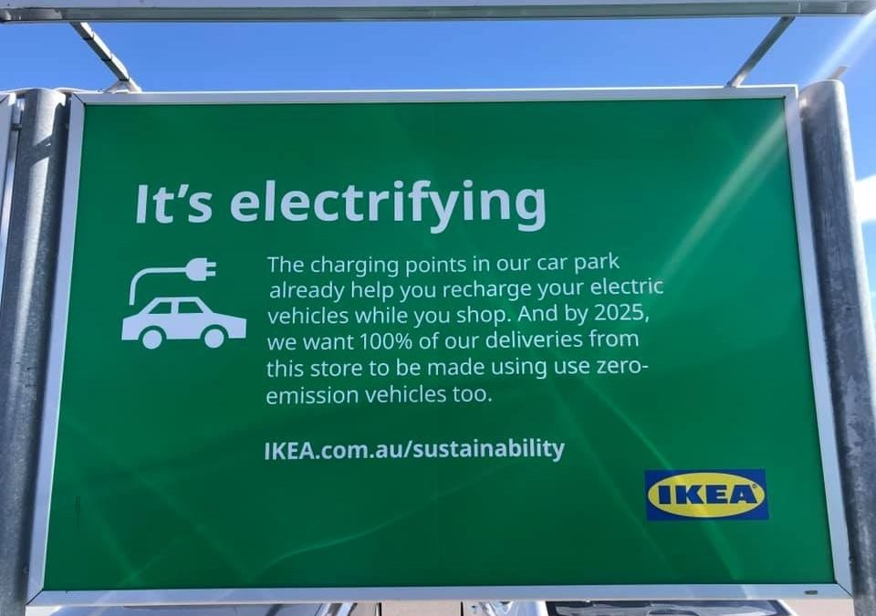 IKEA Australia Charging Ahead with Complimentary EV Charging for Customers and Staff
