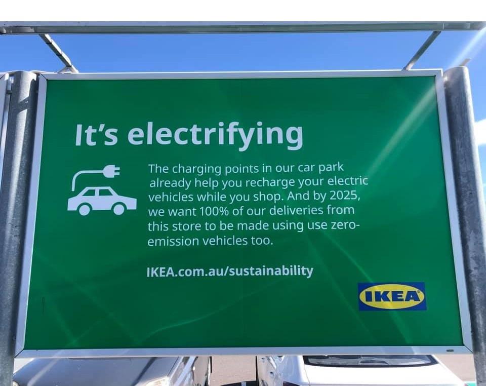 IKEA charging stations