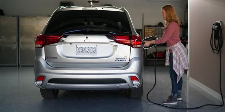 Mitsubishi PHEV EV charger