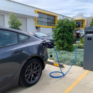 outdoor public charging