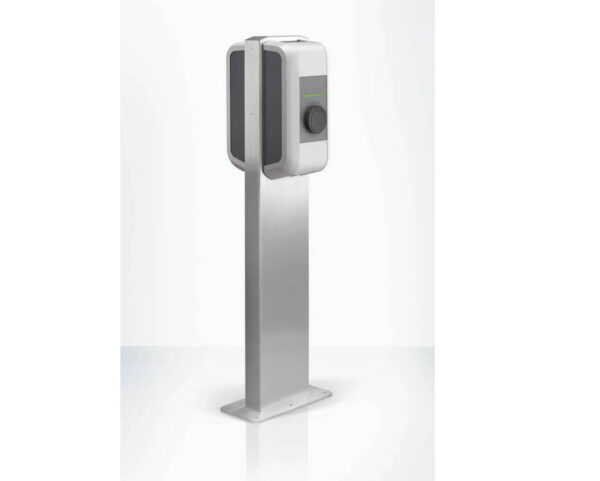 KEBA Double Charging Station Stand | Stainless Steel