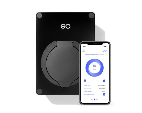 EO Mini Pro Smart Home Charger   Solar   w/5m