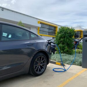 Public Dual Charging Station
