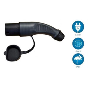 Type 2 Black Plug 7.4kw  - EVSE Australia